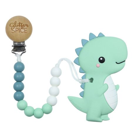T-Rex Dino - Teether with Clip