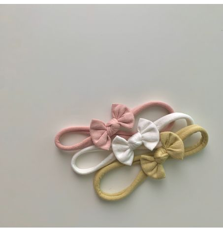 Mini Bow Headband, Soft & Stretchy, Baby Toddler Girls Hair Accessories