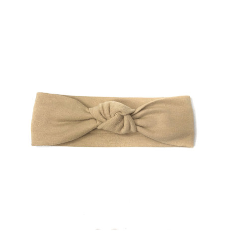 Knot Front Turban Headband, Soft & Stretchy, Baby Toddler Girls Hair Accessories