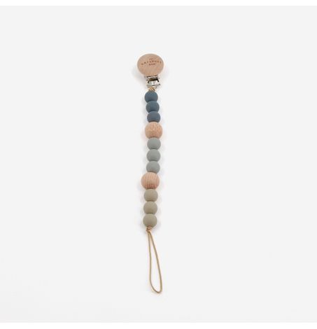 Sea Pacifier Clip, Silicone Teething Beads