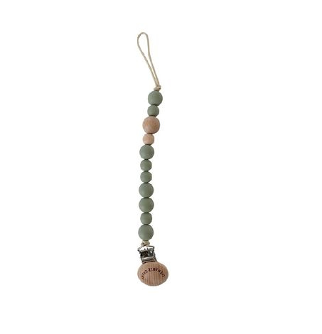 Classic Pacifier Clip, Teething Beads
