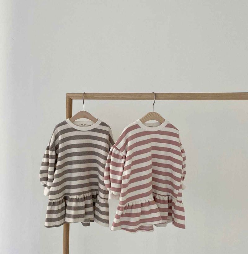 stripe-puff-dress-pink-and-brown-3