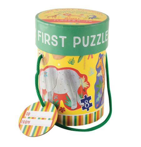 Jungle First Puzzle & Storage Tub