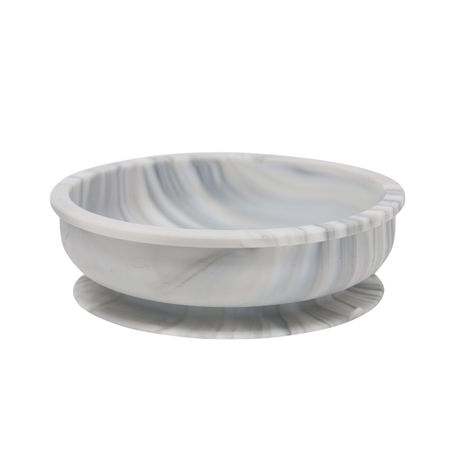 Silicone Snack Bowl - Marble