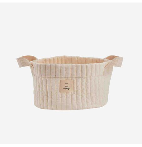 Quilted Basket - Small Size, Organizer