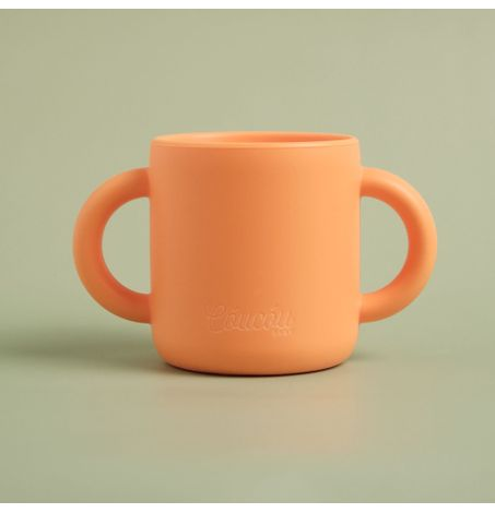 Silicone Double Handle Training Cup