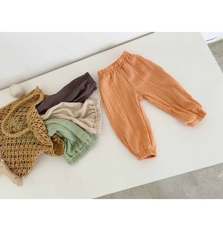 Kids Cooling Crinkle Fabric Pants