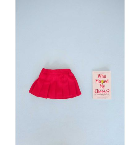 Pleated Skirt With Shorts