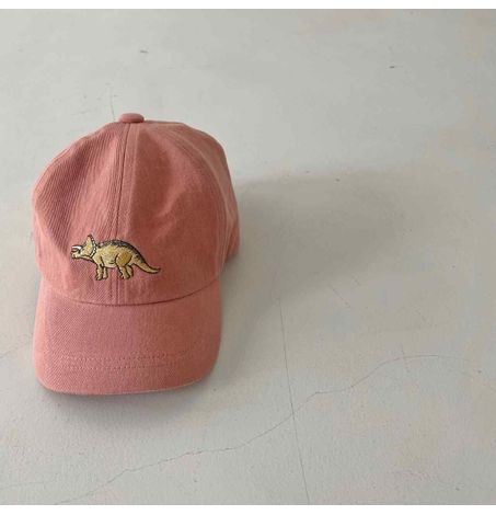 Kids Triceratops Embroidered Baseball Cap
