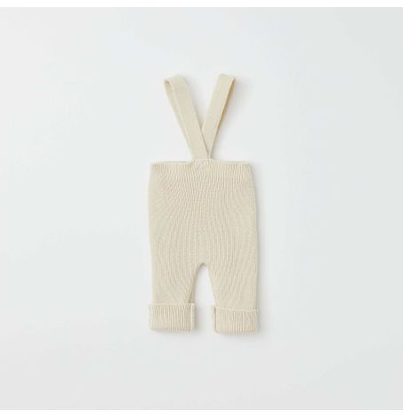 Kids Sweater Knit Dungarees